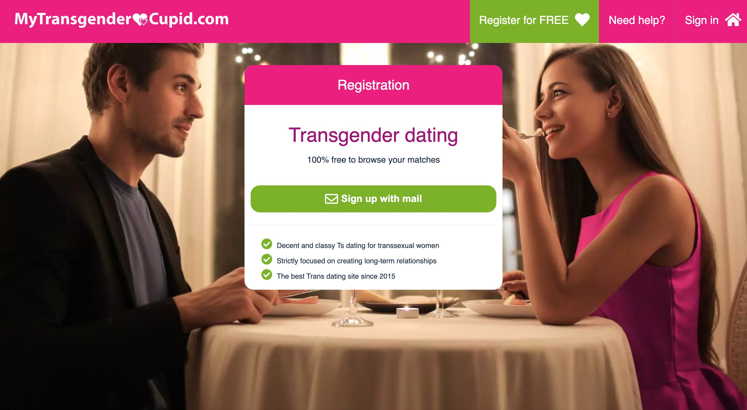 MyTransgenderCupid main page