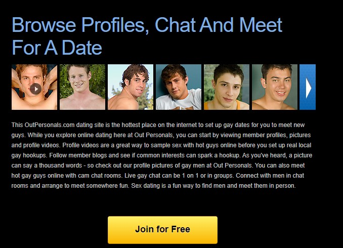 OutPersonals Dating Site